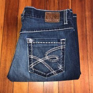 BKE Buckle Drew Boot Cut Denim Jeans Pants